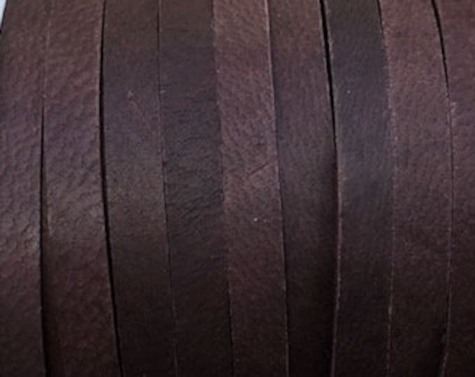 """Chocolate Brown 3/16"""" Deerskin Leather Lace Leather Cord BY THE YARD, Cord Bead, Deer Skin, Leather Supplies, Chocolate"""