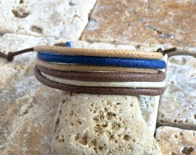 Vegan Bracelet, Vegan Jewellery, Hemp Cord Bracelet, Hemp Jewelry, Gifts Under 10 Well Made and Priced Right  HB-29