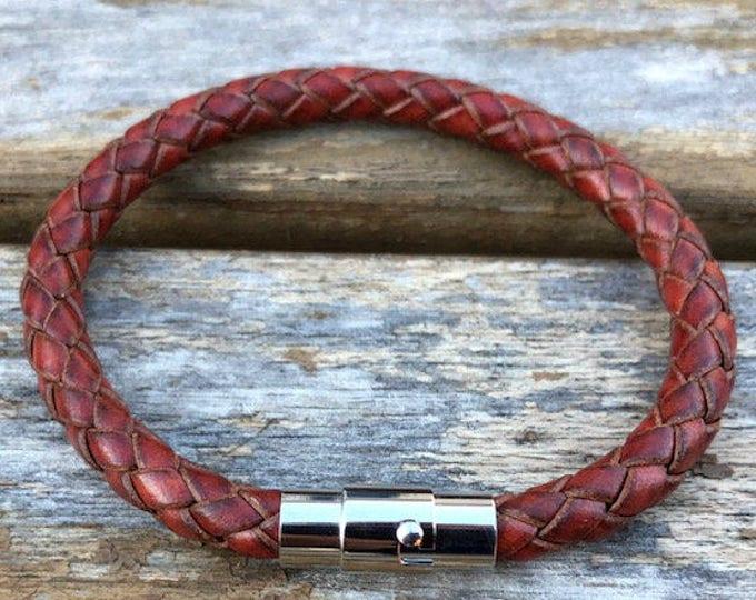Womens Leather Bracelet Gift Under 20 Women's Bracelet Gift For Her Girlfriend Gift Valentine's Day Gifts CS1