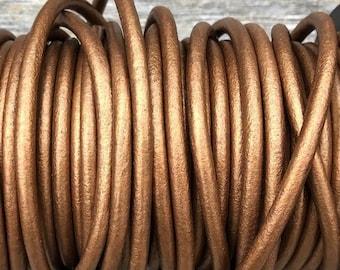 fine quality 2.0mm round Leather cord 10 feet precut genuine Greek made leather cord black