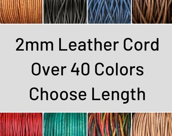 27 yards Gray Metallic Round Leather Cord 1 mm 25 meters