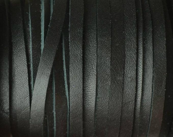 5mm Deertan Lace Black Color Black Deertan