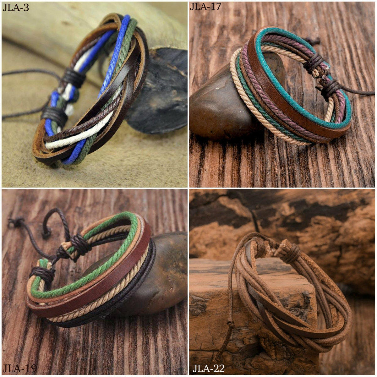 Leather Bracelets For Women Womens Gift Bracelet Woman Girlfriend Her Birthday JLA