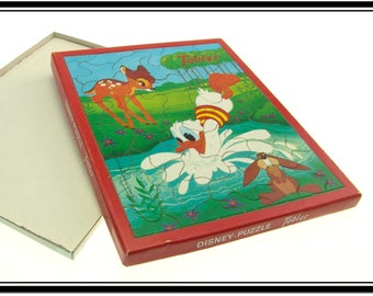 1974 Chocolat Tobler Bern Chocolate box with puzzle