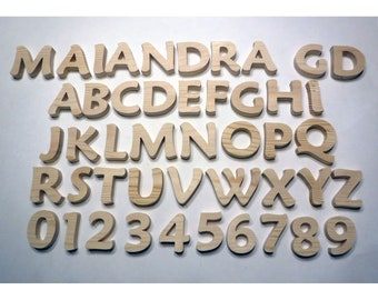 Large Wood Letters Etsy