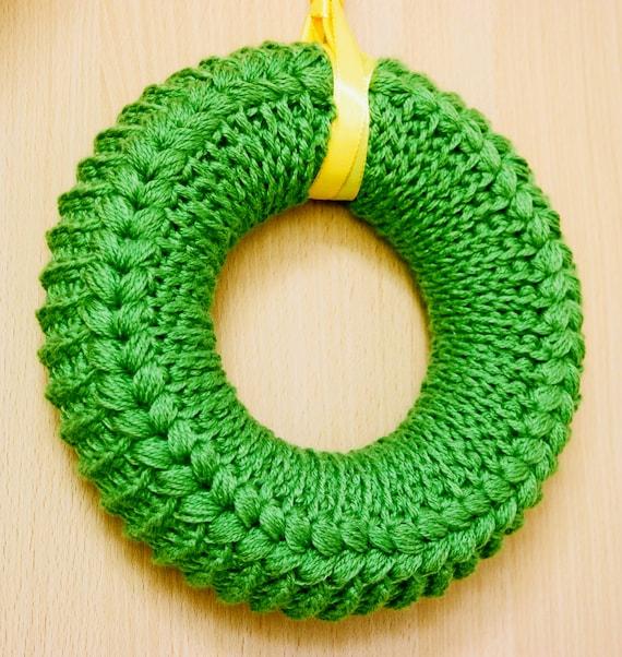 Crochet Pattern Wreath Crochet Wreath Summer Wreath With A Etsy