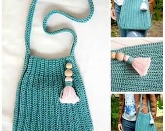 Easy Crochet Pattern for a Shopping Bag
