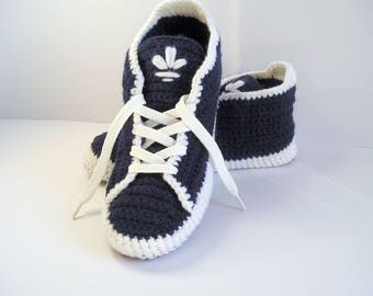 Adidas Slippers Men's Shoes Crochet Boots Gift for Him