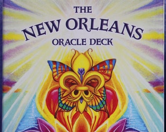 The New Orleans Oracle Deck by Fatima Mbodj, artist Lori Felix, signed Oracle Deck, tarot deck Louisiana, New Orleans deck, divination cards