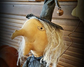 Cupboard Witch Doll Halloween Witch