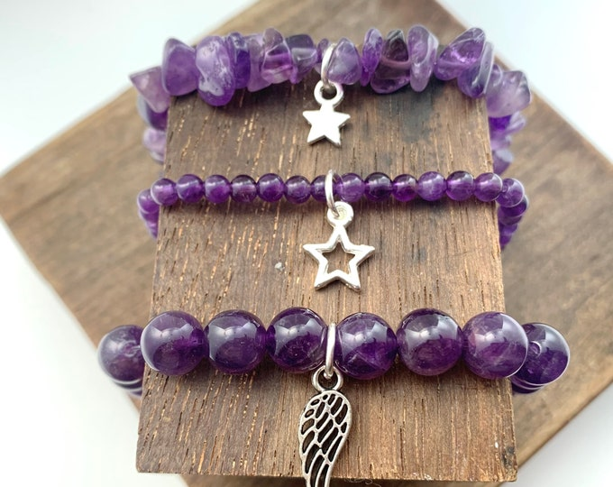 Amethyst Bracelet - Protection