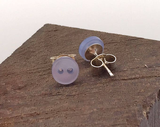 Blue Tiny Stud Earrings
