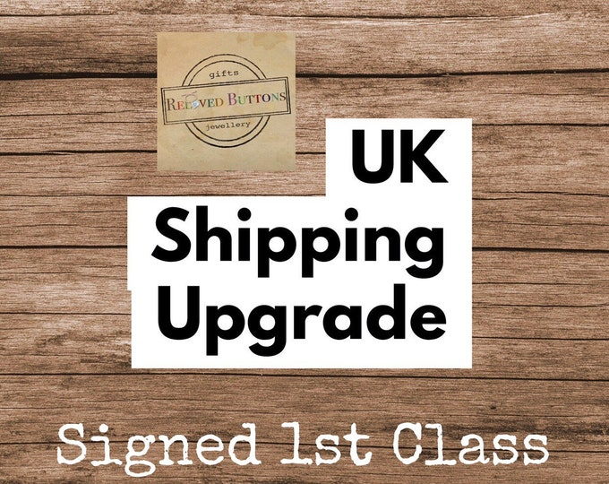 UK Shipping Upgrade - large letter signed for