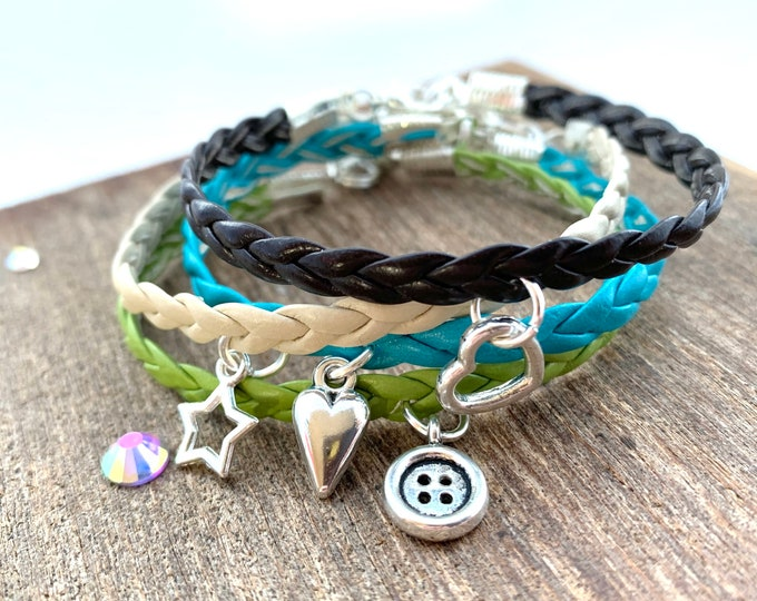 Plaited Friendship Bracelet