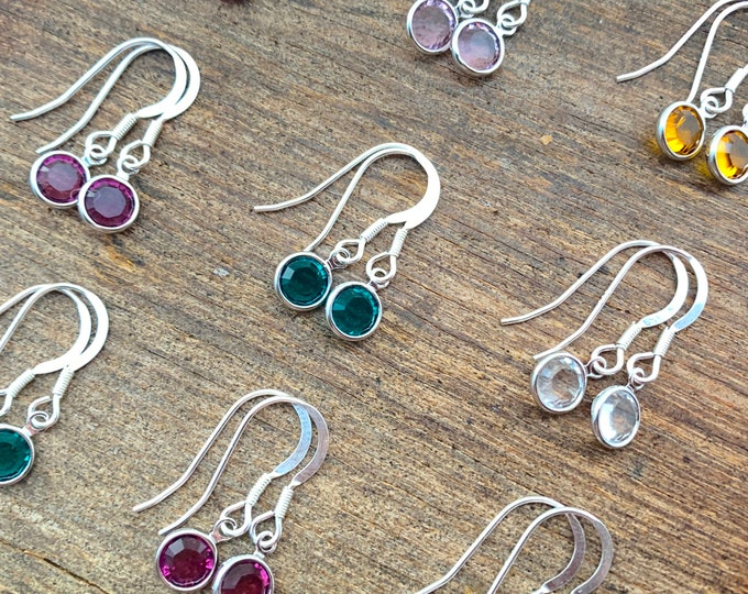 Swarovski Birthstone Earrings