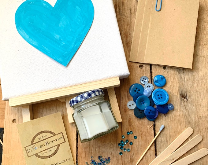 Button Art Craft Kit