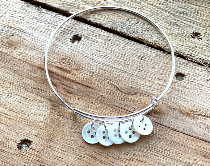 Mother-of-Pearl Family Bracelet