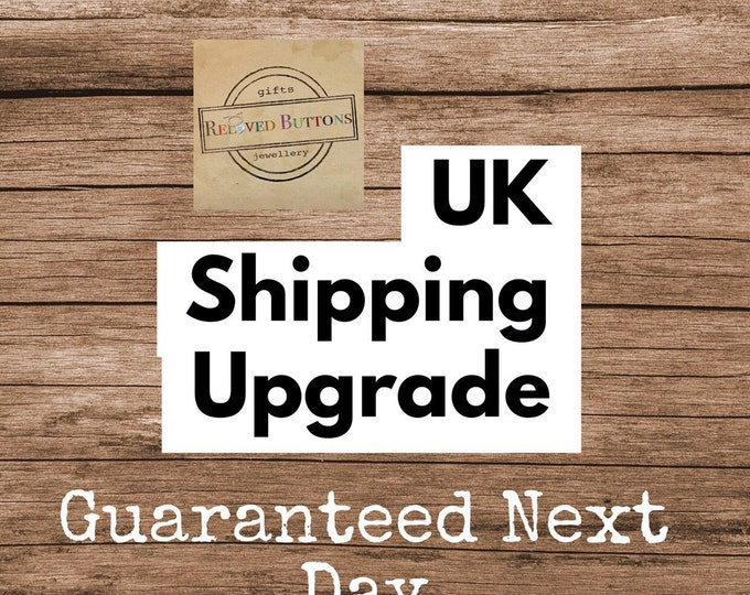 UK Shipping Upgrade - large letter guarenteed by 1pm