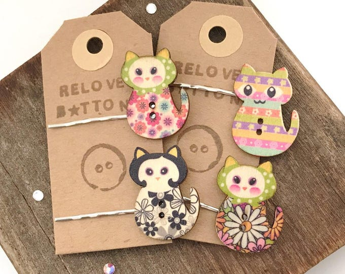 Cat Hair Slides