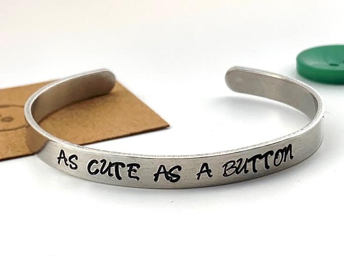 As Cute as a Button Bracelet