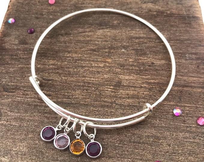 Family Birthstone Bracelet