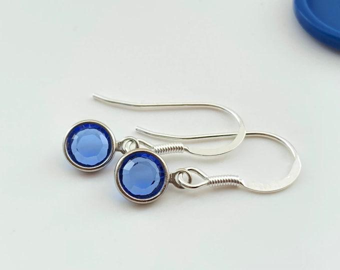 Birthstone Earrings - September