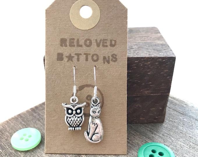 Owl & Pussycat Earrings