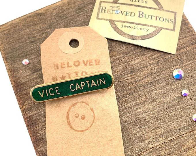 Vice Captain Vintage Pin