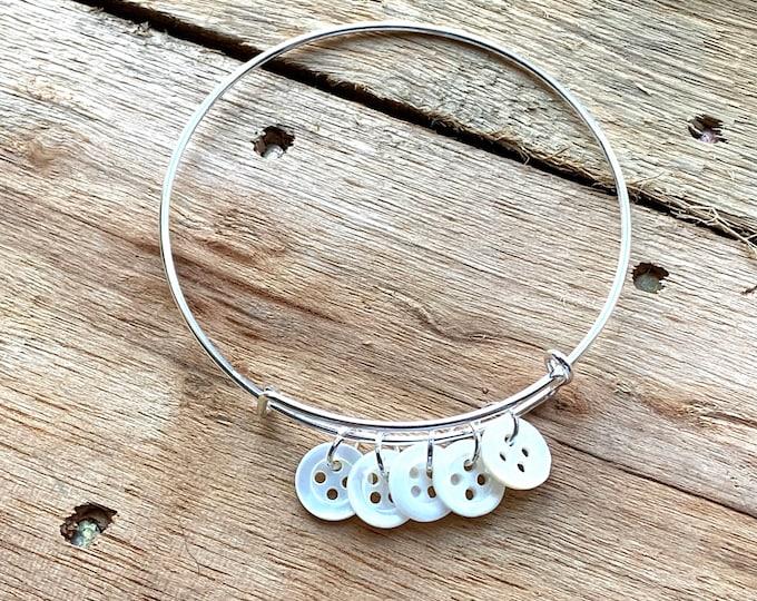 Mother-of-Pearl Family Bracelet