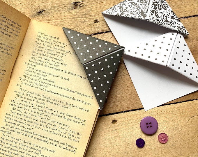 Black & White Bookmark Set