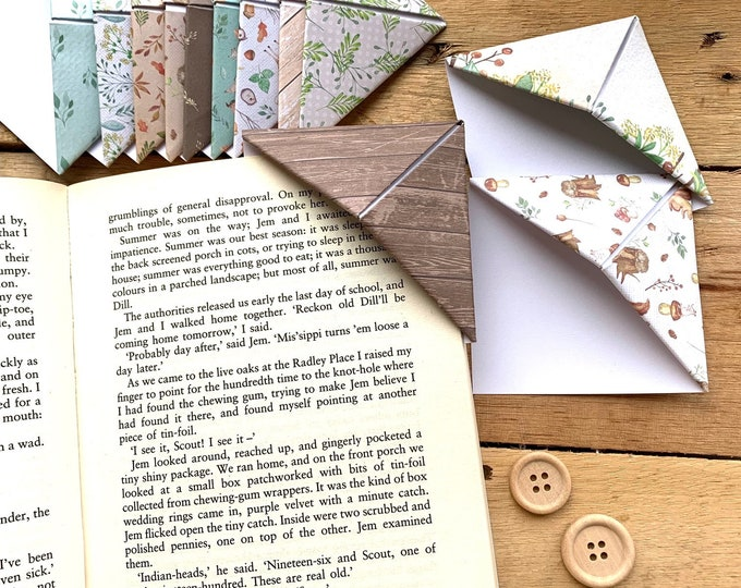 Woodland Bookmark Set