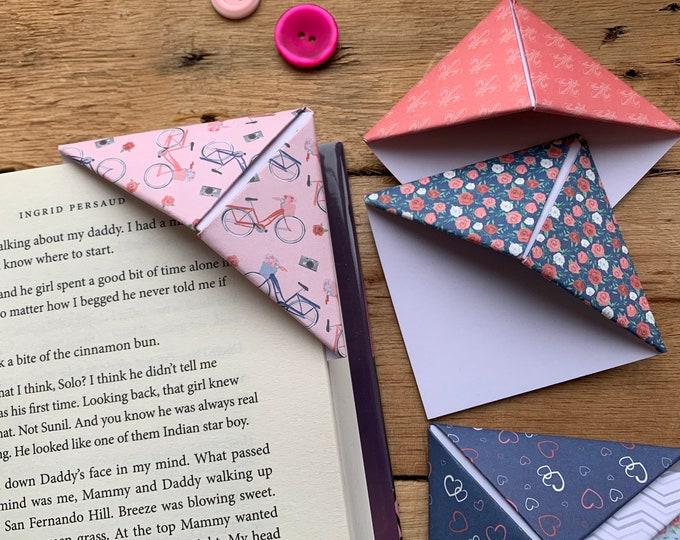 Valentine Bookmark Set