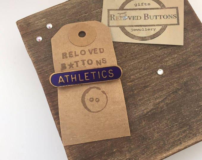 Athletics Vintage Pin
