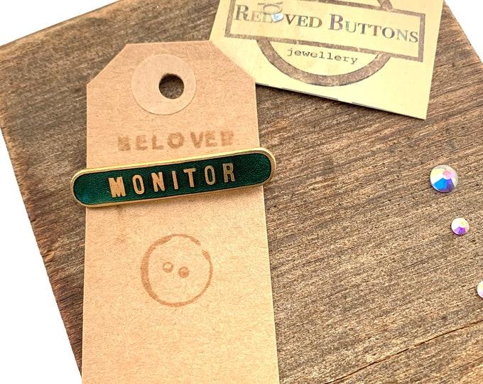 Monitor Vintage Pin