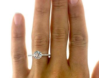 2 Carat Diamond Ring Etsy