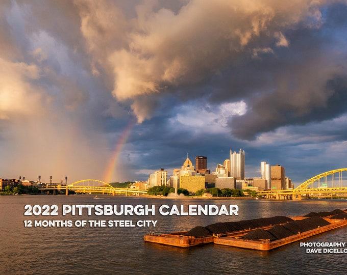 2022 Pittsburgh Calendar