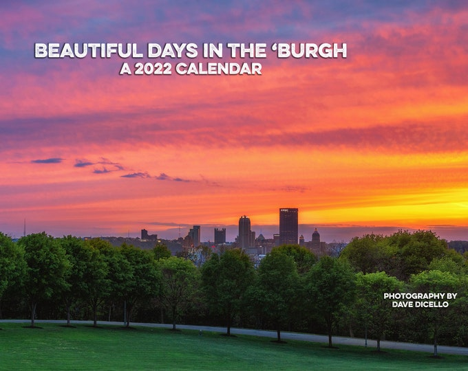 2022 Colorful Skies over Pittsburgh Calendar