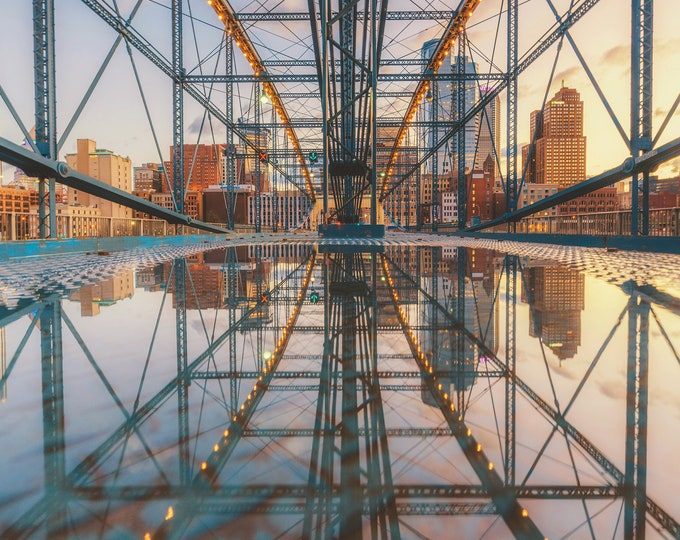 A mirrored world - Pittsburgh skyline - Various Prints