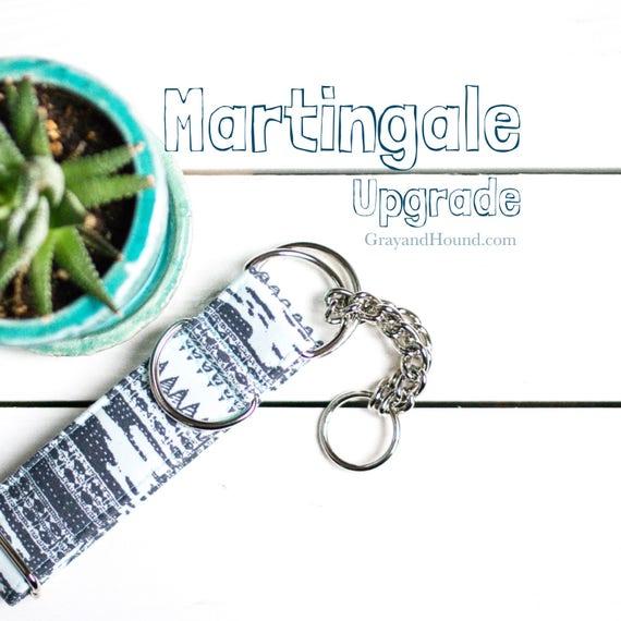Mise à jour - vérifier-chaîne Martingale ou Martingale tissu, collier de dressage, (non vendu séparément)