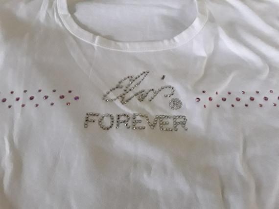 NOS Women's Elvis T Shirt, Elvis Presley's Gracela