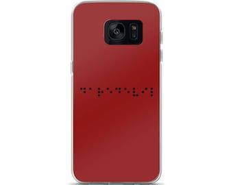 Daredevil Braille Samsung Case