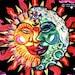 Lisa reviewed Magic Sunmoon UV Black Light Fluorescent & Glow In The Dark Phosphorescent Psychedelic Psy Goa Trance Art Postcard
