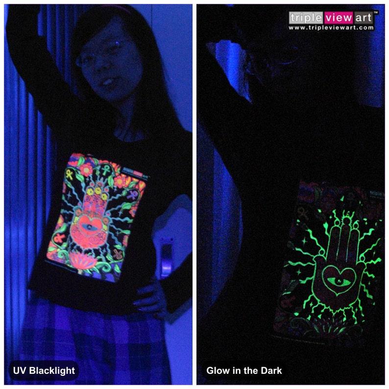 The Hand UV Black Light Fluorescent & Glow In The Dark image 0