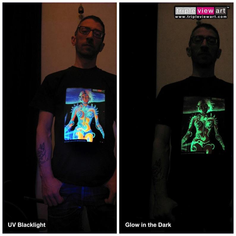 Biomechanoid UV Black Light Fluorescent & Glow In The Dark image 0