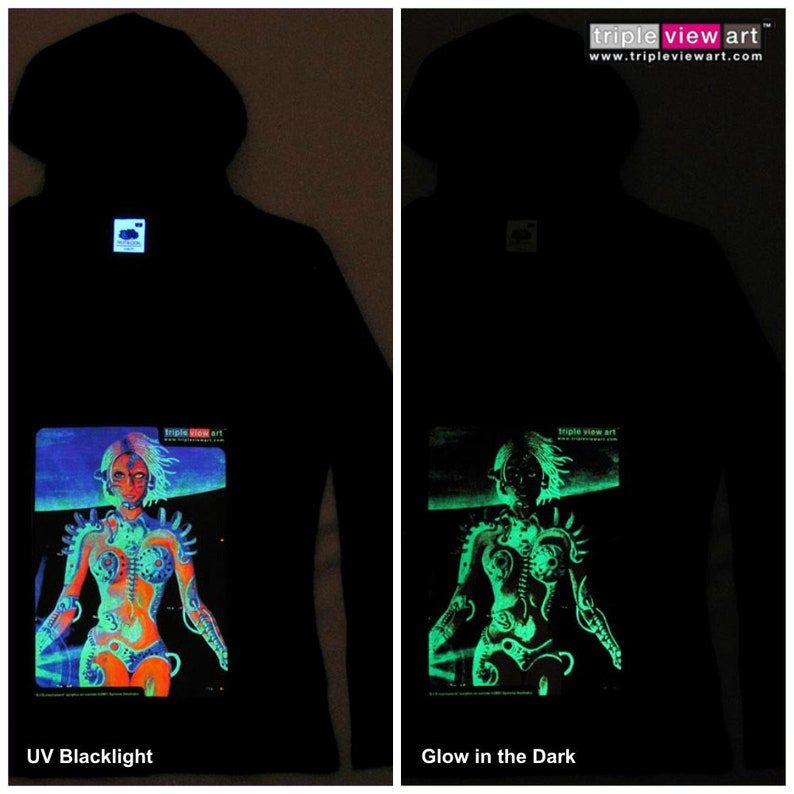 Biomechanoid UV Black Light Fluorescent & Glow In The Dark image 0