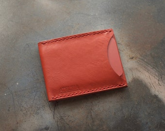 ATELEIA Slim Wallet (Front Pocket Wallet) - Red