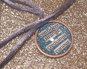The Raven Boys Blue Sargent Necklace