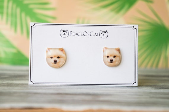 Pomeranian Gifts Dog Lover Gift Pomeranian Jewelry Etsy