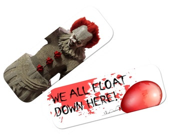 Pennywise / IT bookmark (2017 version)