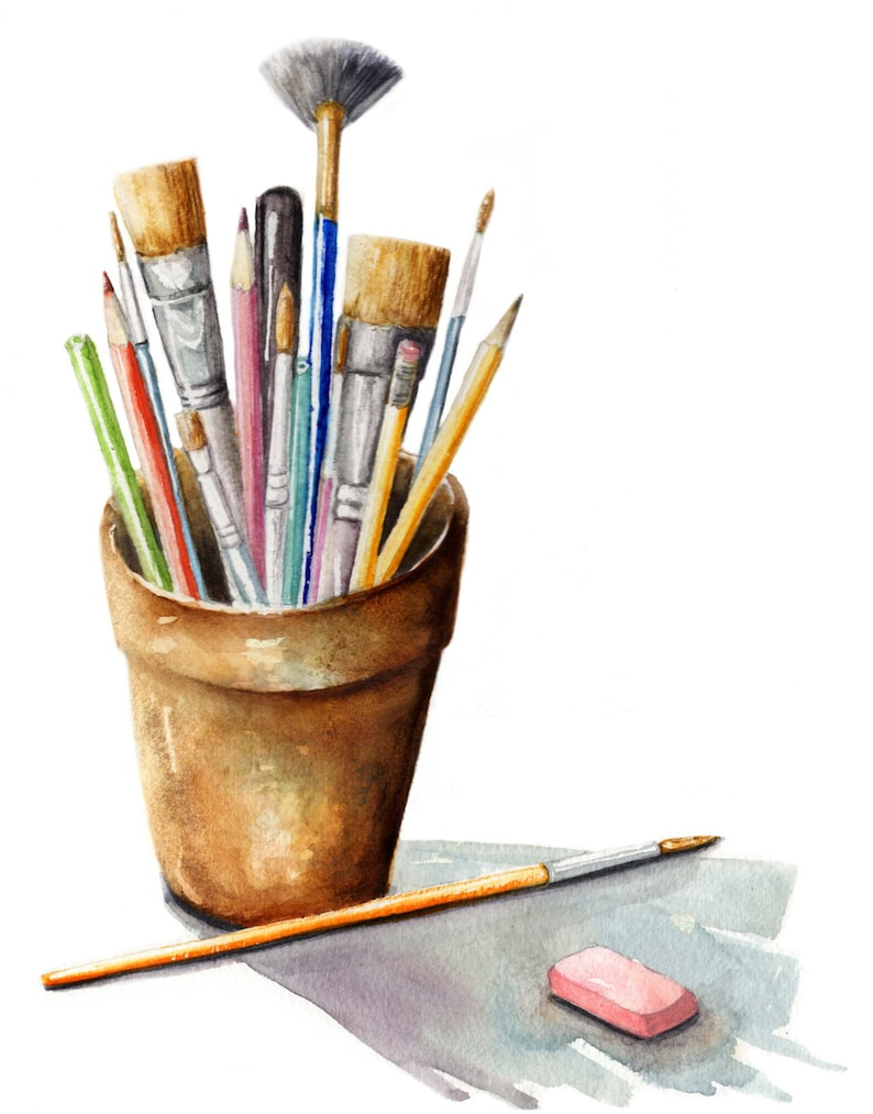 Watercolor Art Supplies Painting / paint brushes / art tools